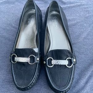 Coach Eileen Loafers with Coach Metal Detail Sz 7